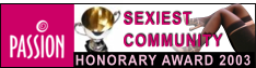 Passion Online Sexiest Community Site Award